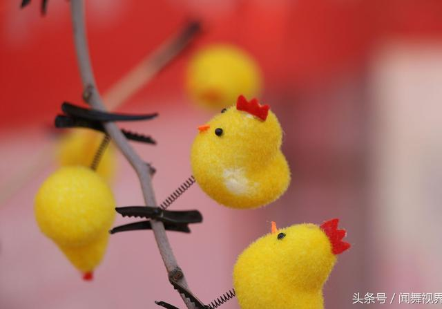 小鸡头饰图片简单漂亮