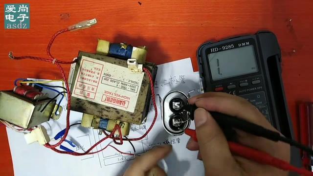 格兰仕微波炉更换电容