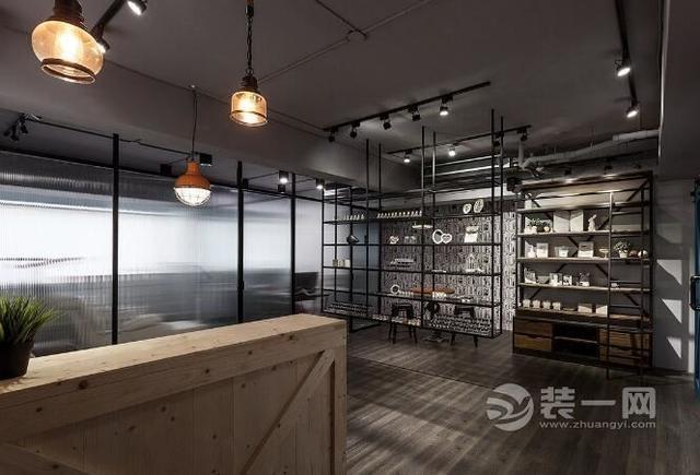 美甲店装修效果图 工业风格设计特点让您的店铺装修独具一格
