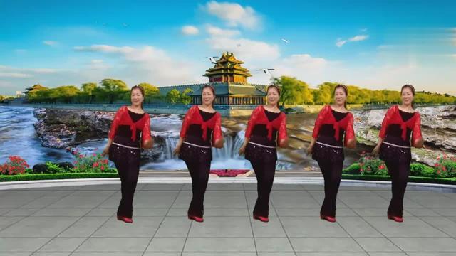 北江美舞32步老年舞