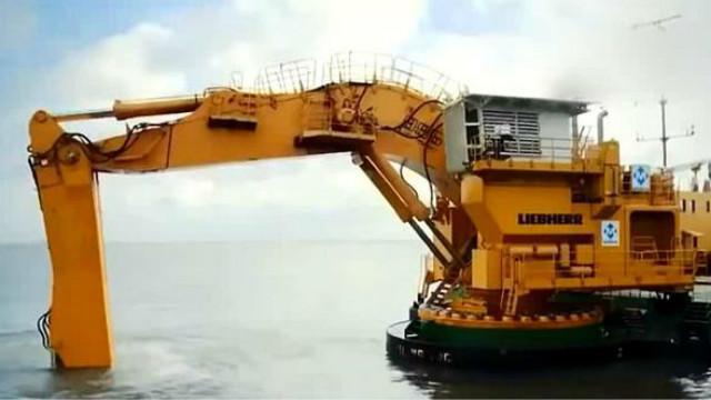 6个世界最大的液压挖掘机,每台的价格都上亿