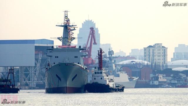 中国海军侦察船