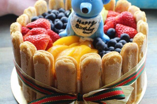 水果戚风生日蛋糕的做法步骤
