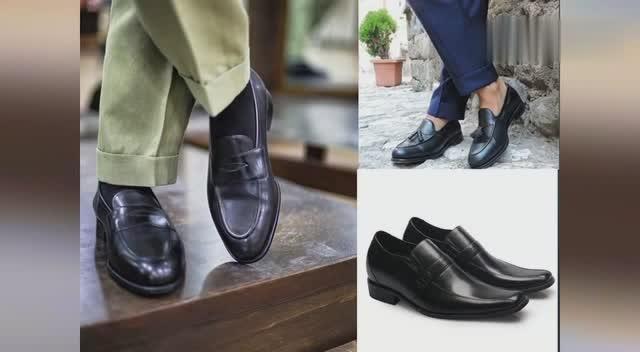 高档休闲增高皮鞋