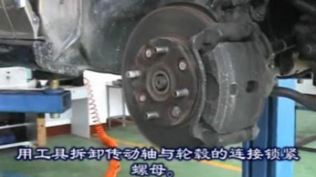 三轮车的半轴不好拆,自己做个拔轴器(6205轴承版)看效果怎么样