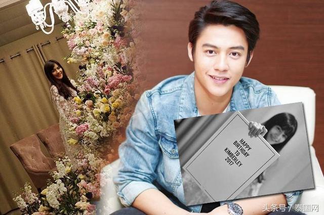 泰国暖男Mark为女友送上浪漫生日惊喜!
