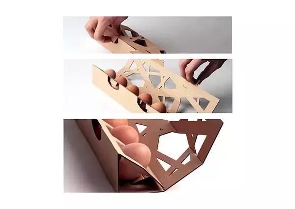 瓦楞纸材质的万博ManBetX手机版客户端设计欣赏(一)