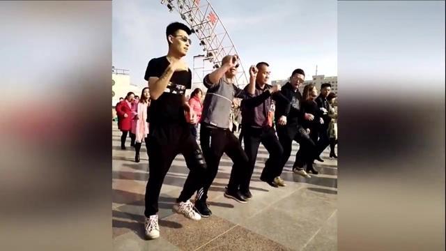 透明裤无打底跳广场舞