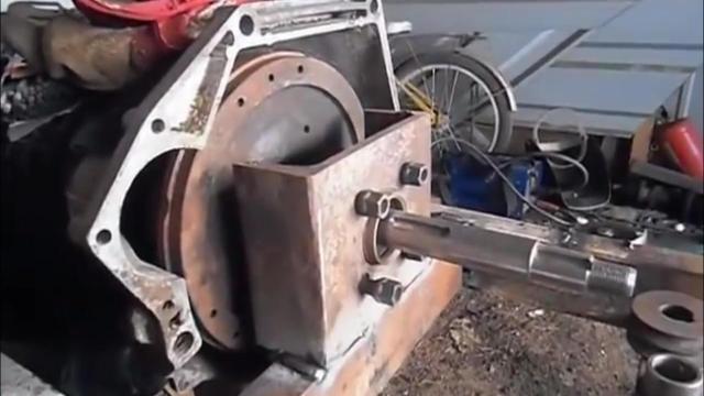 手扶拖拉机离合器 手扶拖拉机转向弹簧和离合器的巧装... _我有车
