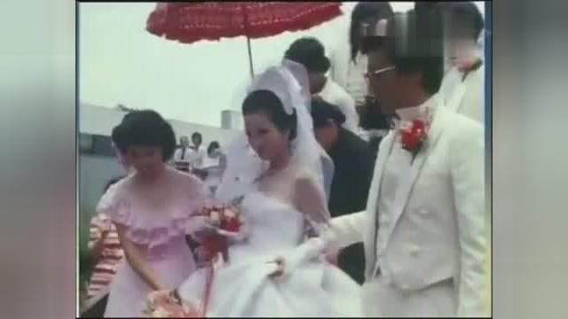 谢贤和狄波拉当年那一场盛大婚礼