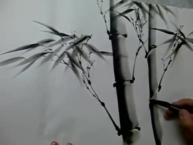 水墨竹子壁纸