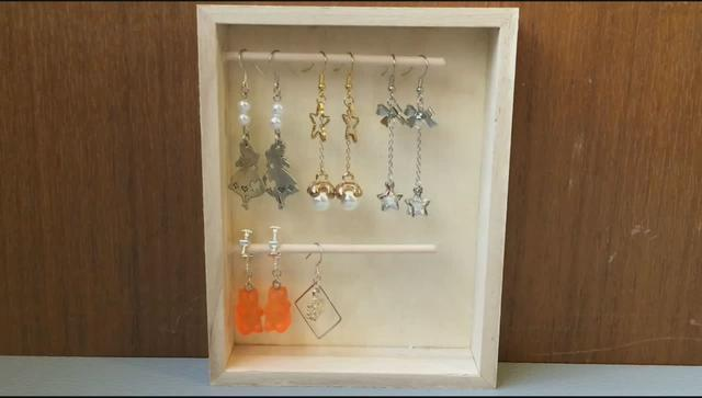 #手工diy最爱这个颜色的收纳盒 拿来放一些耳环啊... _网易视频