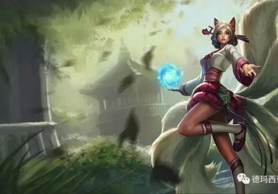 《英雄联盟》超可爱同人漫画:匹配时遇到个狐狸姐姐
