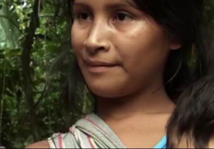 巴西原始部落少女