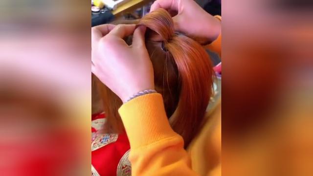 中式秀禾服新娘发型 传统古典倾国新娘_腾讯网