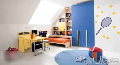硅藻泥设计男孩儿童房