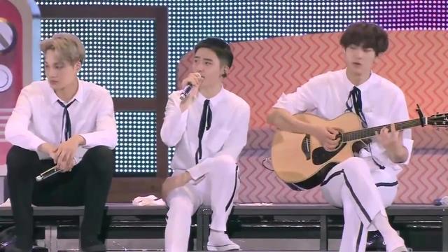 151218 EXO 音乐银行回归舞台【Unfair偏心】现场版