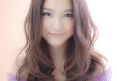 韩式中长发烫发发型图片 烫卷设计更添女性温柔气质