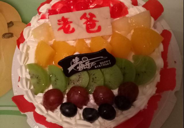 送媽媽的生日蛋糕