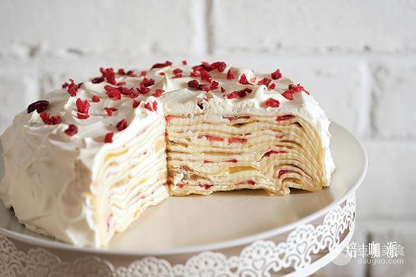 千層蛋糕的做法