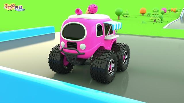 卡通车车:好多颜色的小汽车,还各种颜色直升机,快来一起学习吧