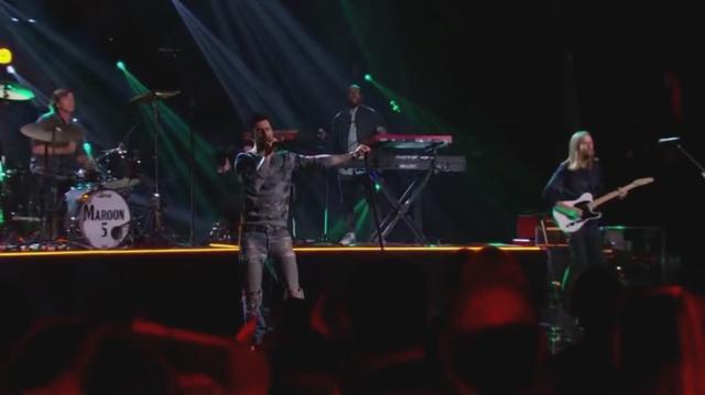 魔力红乐队激情献唱热单现场娱乐_手机乐视视频