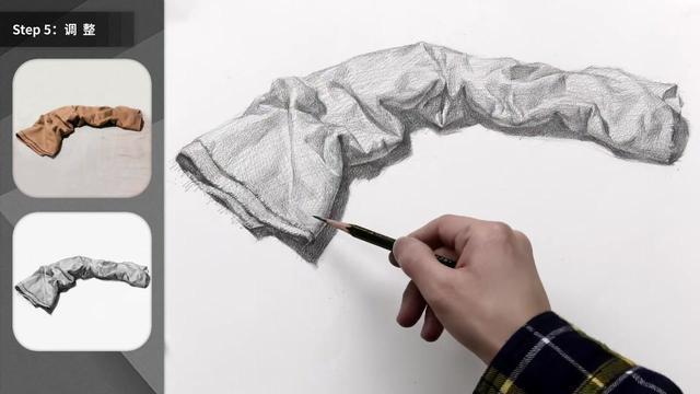 水粉衬布的画法