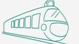 兒童畫小火車