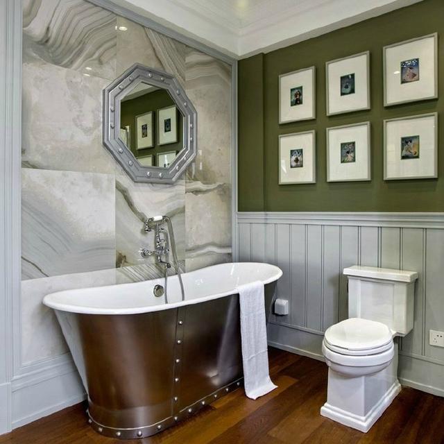 卫生间带浴缸设计