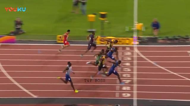 伦敦世锦赛100米