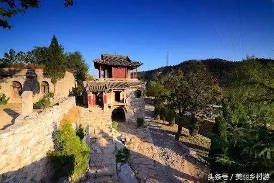 黄山郭村古村落图片