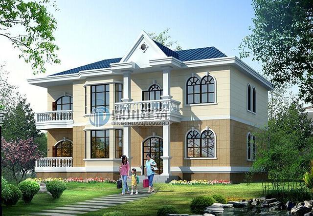 6栋爆款农村自建小别墅实景图及设计图,小巧精致,造价经济