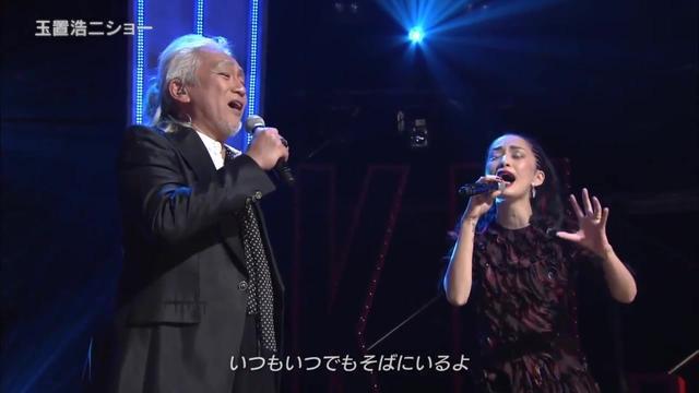 玉置浩二×中岛美嘉合唱《雪之华》这版实在太惊艳了!现场高清