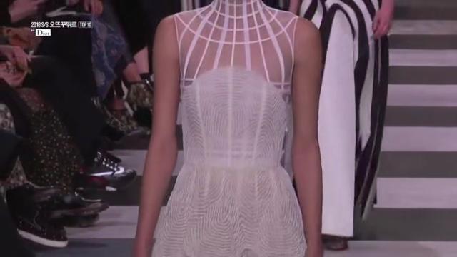 米兰时装周,半透明时尚连衣裙,霸气总裁风范。
