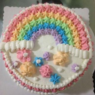 彩虹蛋糕的做法,彩虹蛋糕的家常做法