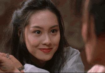 最美艳的几个镜头,邱淑贞咬牌,朱茵眨眼,太经典!