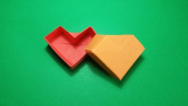 垃圾盒的几种叠法