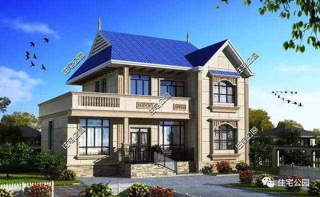 2款二层半别墅设计图,农村经典自建房推荐户型,大气!