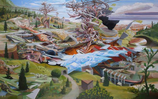 抽象画作品欣赏 美国画家Michael Mckee