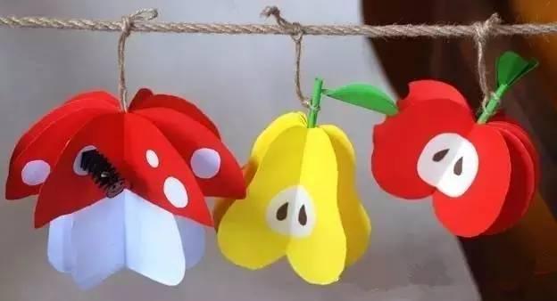 创意美术——意大利面,小班的小盆友也可以独立完成手工美术哦