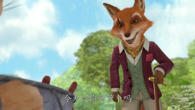 卡通動物狐貍頭像