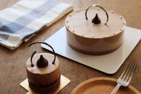 醇香巧克力慕斯蛋糕的做法步驟