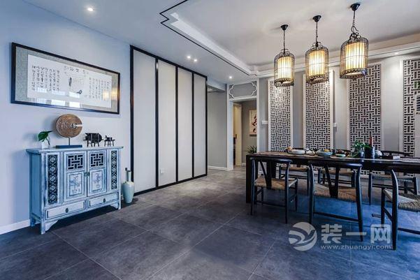 浙江金华金东区,三室两厅两卫280㎡新中式装修