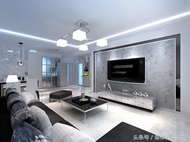 74平米(翰林世家)有钱也不任性,选择合适且喜欢的家装风格!