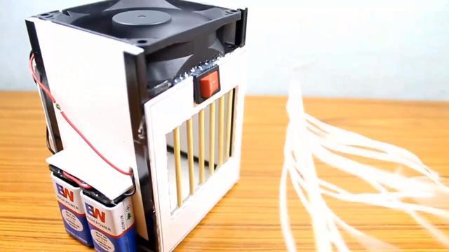 夏天太热,教在家里DIY自制一个小型的空调!