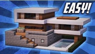 我的世界建别墅超级大教程