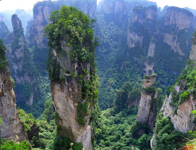 湖南西部有一个古代仙人苦寻不得的隐世秘境,如今已贵为世界遗产