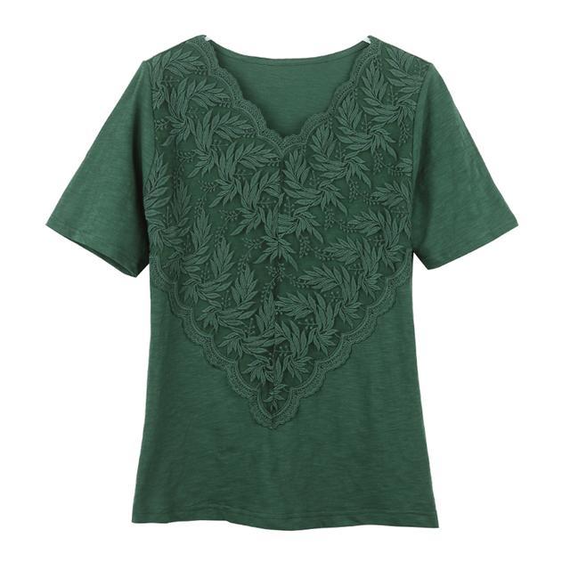 28-36岁夏季女士的必备单品 新品夏装新款 第一款短袖T恤让你在夏季依然美丽