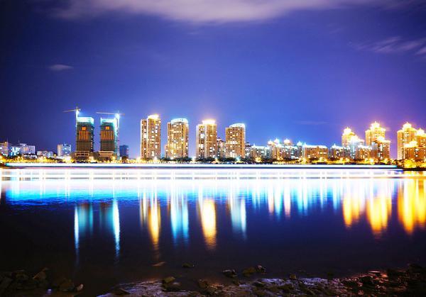 最美福州滨江夜让人沉醉!现景实拍带你享受这极致夜色!