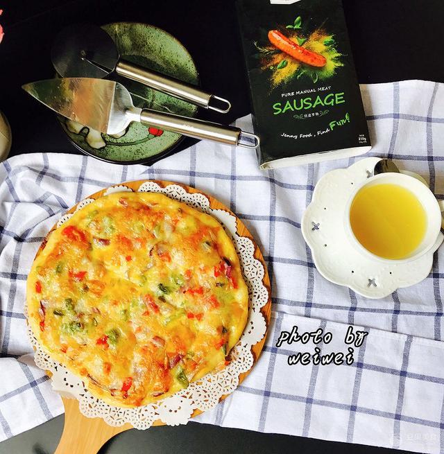 【步骤图】披萨(面饼做法及披萨做法)成功率高的做法_... _下厨房